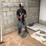 homemade dirt compactor